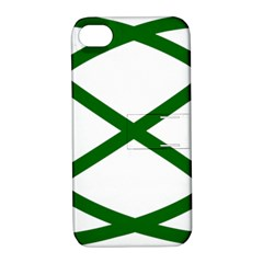 Lissajous Small Green Line Apple Iphone 4/4s Hardshell Case With Stand by Mariart