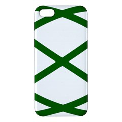 Lissajous Small Green Line Apple Iphone 5 Premium Hardshell Case by Mariart
