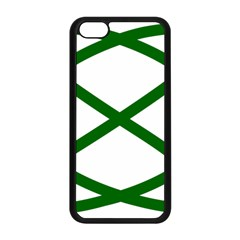 Lissajous Small Green Line Apple Iphone 5c Seamless Case (black) by Mariart