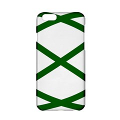 Lissajous Small Green Line Apple Iphone 6/6s Hardshell Case by Mariart