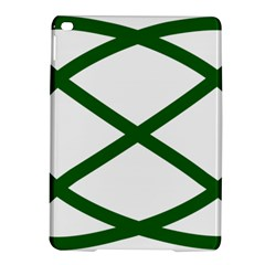 Lissajous Small Green Line Ipad Air 2 Hardshell Cases by Mariart