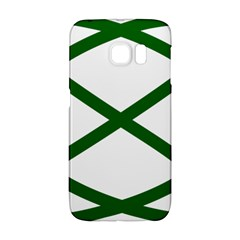 Lissajous Small Green Line Galaxy S6 Edge by Mariart