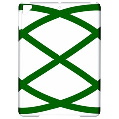 Lissajous Small Green Line Apple Ipad Pro 9 7   Hardshell Case by Mariart