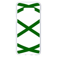 Lissajous Small Green Line Samsung Galaxy S8 Plus White Seamless Case by Mariart