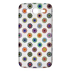 Flowers Pattern Recolor Artwork Sunflower Rainbow Beauty Samsung Galaxy Mega 5 8 I9152 Hardshell Case  by Mariart