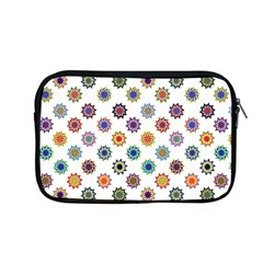 Flowers Pattern Recolor Artwork Sunflower Rainbow Beauty Apple Macbook Pro 13  Zipper Case by Mariart