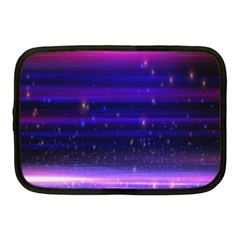 Massive Flare Lines Horizon Glow Particles Animation Background Space Netbook Case (medium)  by Mariart