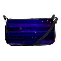 Massive Flare Lines Horizon Glow Particles Animation Background Space Shoulder Clutch Bags by Mariart