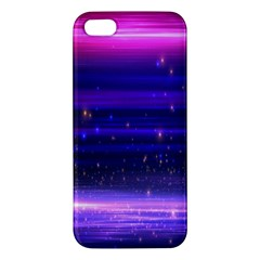 Massive Flare Lines Horizon Glow Particles Animation Background Space Apple Iphone 5 Premium Hardshell Case by Mariart