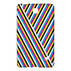 Lines Chevron Yellow Pink Blue Black White Cute Samsung Galaxy Tab 4 (7 ) Hardshell Case  by Mariart