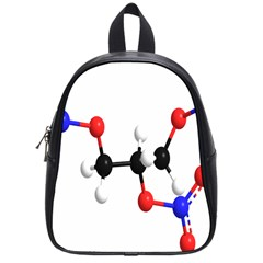 Nitroglycerin Lines Dna School Bag (small) by Mariart