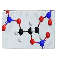 Nitroglycerin Lines Dna Cosmetic Bag (xxl)  by Mariart