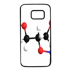 Nitroglycerin Lines Dna Samsung Galaxy S7 Black Seamless Case by Mariart