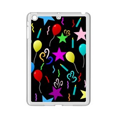 Party Pattern Star Balloon Candle Happy Ipad Mini 2 Enamel Coated Cases by Mariart