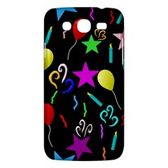 Party Pattern Star Balloon Candle Happy Samsung Galaxy Mega 5 8 I9152 Hardshell Case  by Mariart