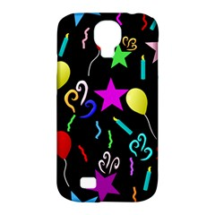 Party Pattern Star Balloon Candle Happy Samsung Galaxy S4 Classic Hardshell Case (pc+silicone) by Mariart