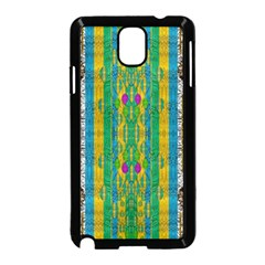 Rainbows Rain In The Golden Mangrove Forest Samsung Galaxy Note 3 Neo Hardshell Case (black) by pepitasart
