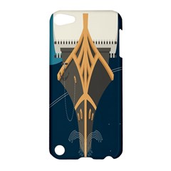 Planetary Resources Exploration Asteroid Mining Social Ship Apple Ipod Touch 5 Hardshell Case by Mariart