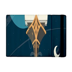 Planetary Resources Exploration Asteroid Mining Social Ship Apple Ipad Mini Flip Case by Mariart