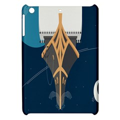 Planetary Resources Exploration Asteroid Mining Social Ship Apple Ipad Mini Hardshell Case by Mariart