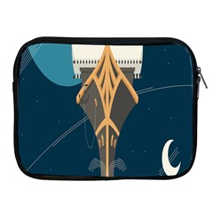 Planetary Resources Exploration Asteroid Mining Social Ship Apple Ipad 2/3/4 Zipper Cases by Mariart