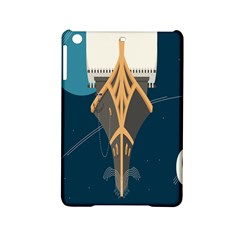 Planetary Resources Exploration Asteroid Mining Social Ship Ipad Mini 2 Hardshell Cases by Mariart