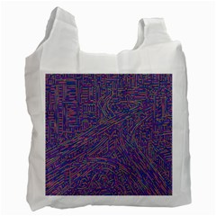 Infiniti Line Building Street Line Illustration Recycle Bag (one Side) by Mariart