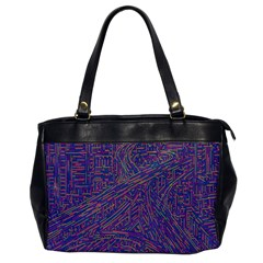 Infiniti Line Building Street Line Illustration Office Handbags by Mariart