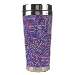 Infiniti Line Building Street Line Illustration Stainless Steel Travel Tumblers by Mariart