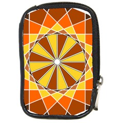 Ornaments Art Line Circle Compact Camera Cases by Mariart