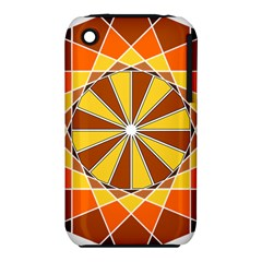 Ornaments Art Line Circle Iphone 3s/3gs by Mariart