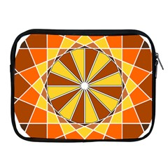 Ornaments Art Line Circle Apple Ipad 2/3/4 Zipper Cases by Mariart