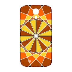 Ornaments Art Line Circle Samsung Galaxy S4 I9500/i9505  Hardshell Back Case by Mariart