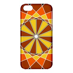 Ornaments Art Line Circle Apple Iphone 5c Hardshell Case by Mariart