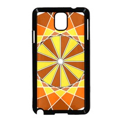 Ornaments Art Line Circle Samsung Galaxy Note 3 Neo Hardshell Case (black) by Mariart