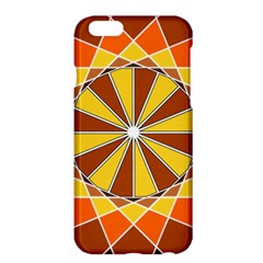 Ornaments Art Line Circle Apple Iphone 6 Plus/6s Plus Hardshell Case by Mariart