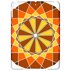 Ornaments Art Line Circle Apple Ipad Pro 9 7   Hardshell Case by Mariart