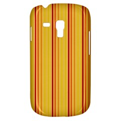 Red Orange Lines Back Yellow Galaxy S3 Mini by Mariart