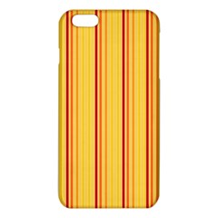 Red Orange Lines Back Yellow Iphone 6 Plus/6s Plus Tpu Case by Mariart