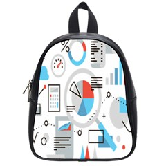 Science Mathematics Formula School Bag (small) by Mariart