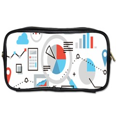Science Mathematics Formula Toiletries Bags by Mariart
