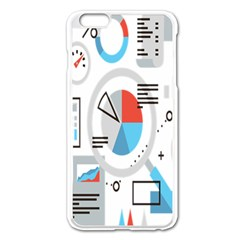 Science Mathematics Formula Apple Iphone 6 Plus/6s Plus Enamel White Case by Mariart