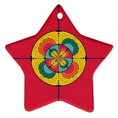 Color Scope Ornament (star) by linceazul