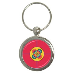Color Scope Key Chains (round)  by linceazul