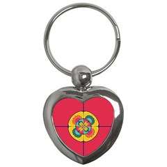 Color Scope Key Chains (heart)  by linceazul