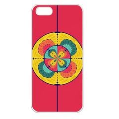 Color Scope Apple Iphone 5 Seamless Case (white) by linceazul