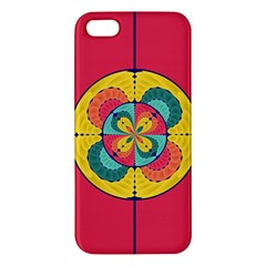 Color Scope Apple Iphone 5 Premium Hardshell Case by linceazul
