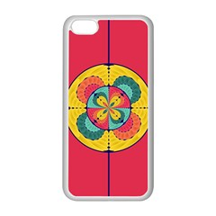 Color Scope Apple Iphone 5c Seamless Case (white) by linceazul