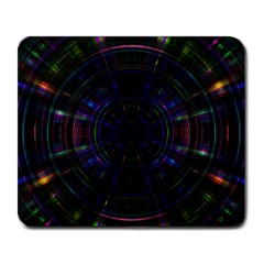 Psychic Color Circle Abstract Dark Rainbow Pattern Wallpaper Large Mousepads by Mariart