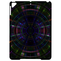 Psychic Color Circle Abstract Dark Rainbow Pattern Wallpaper Apple Ipad Pro 9 7   Hardshell Case by Mariart